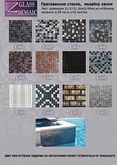 Перламутровая стеклянная мозаика