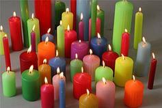 Цветные свечи,для ритуалов