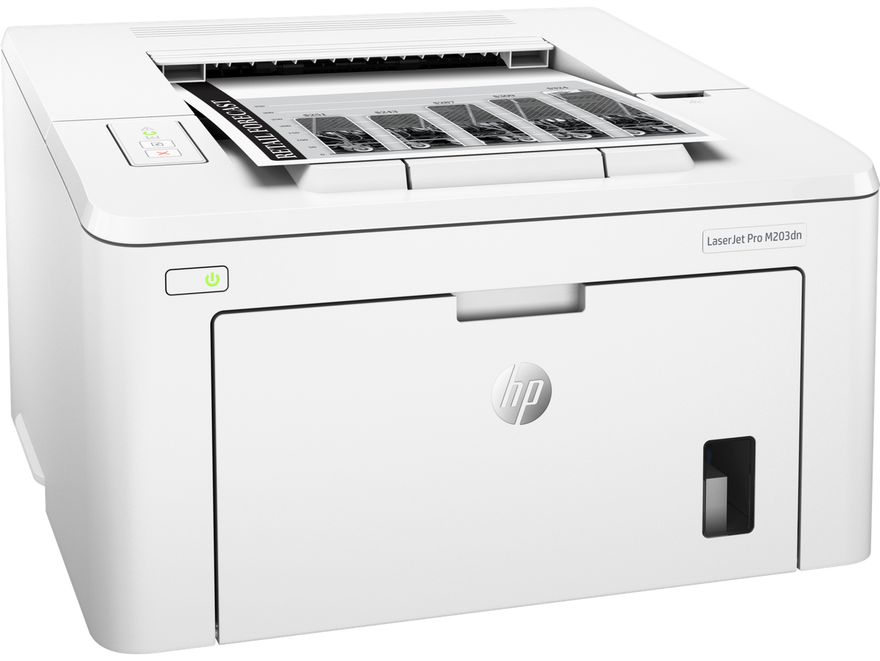 Принтер HP G3Q46A HP LaserJet Pro M203dn Prntr (A4) , 1200 dpi, 28 ppm, 256 MB, 800 MHz, 250 pages tray, Duple