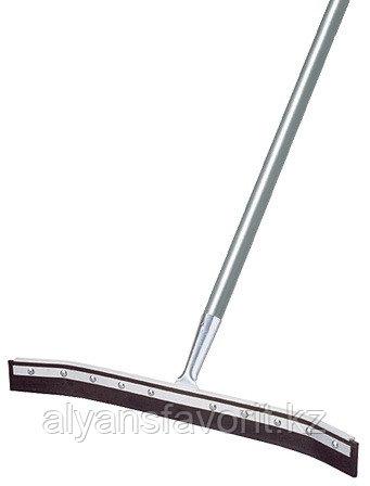 Швабра с резиновым лезвием для сгона воды (водосгон) с загнутыми концами 55 см.Турция