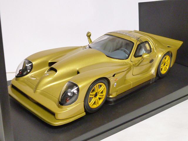 1/18 Auto Art Коллекционная модель Panoz Esperante GTR-1 Street Car, золотистый