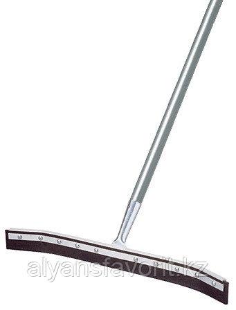 Швабра с резиновым лезвием для сгона воды (водосгон) с загнутыми концами 75 см.Турция