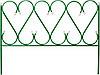 "Забор декоративный GRINDA ""РЕНЕССАНС"", металлический, 50x345см, 422263"