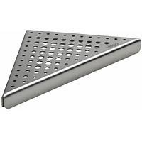 Дизайн-решетка EA2 165*20мм,матовая,д/углового трапа