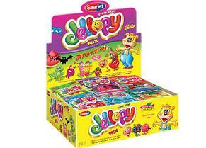 Jellopy мармелад в пакетиках MIX 20 гр (24шт - упак)