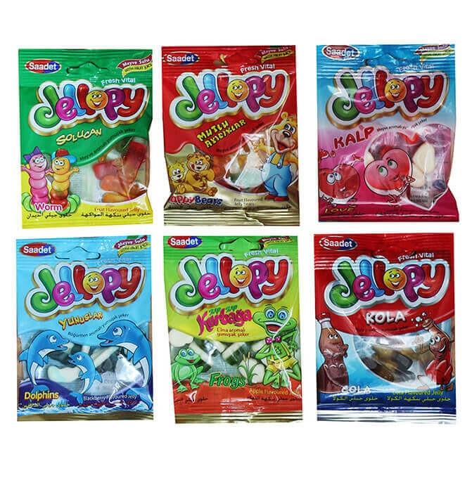 Jellopy мармелад в пакетиках MIX 20 гр