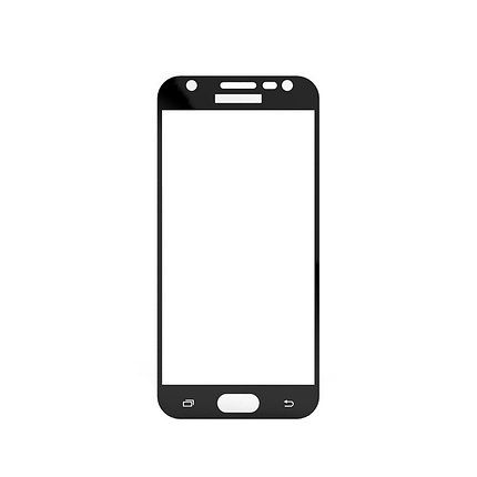 Защитное стекло Samsung J3 2017, Samsung J330 2017, Окантовка Black A-Case, фото 2