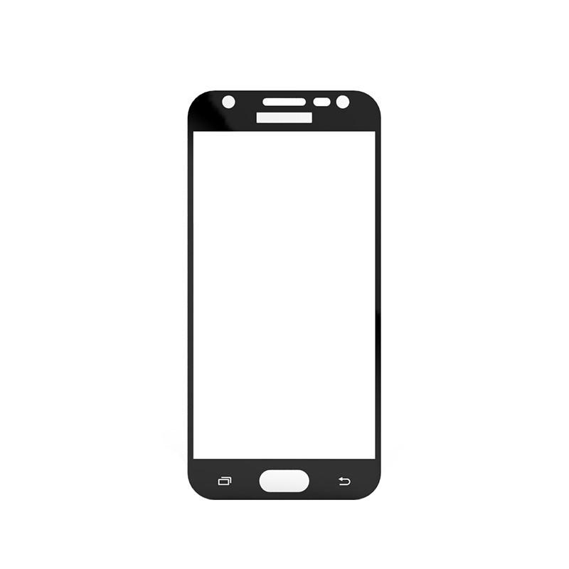 Защитное стекло Samsung J3 2017, Samsung J330 2017, Окантовка Black A-Case