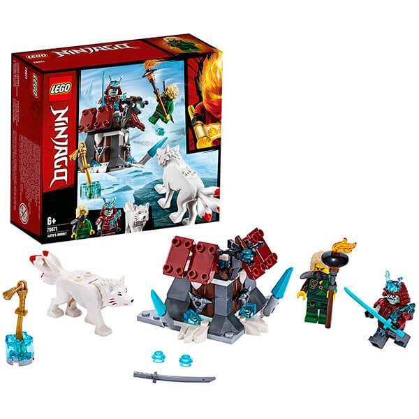 LEGO Ninjago  Конструктор ЛЕГО Ниндзяго Путешествие Ллойда