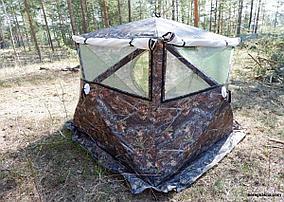 Палатка Куб Медведь 4 камуфляж, фото 3