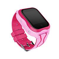 Детские умные часы с GPS Smart baby watch A32 водонепроницаемые c камерой, розовые., фото 1