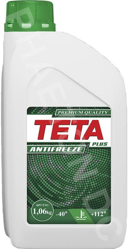 Антифриз TETA PLUS 1кг зеленый