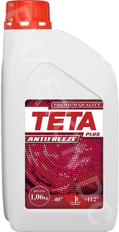 Антифриз TETA PLUS 1кг красный