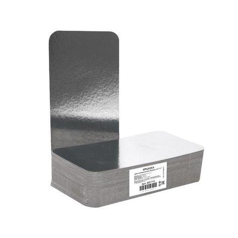 Крышка к алюминиевой форме 212x108мм, картон/алюминий, 600 шт, фото 2