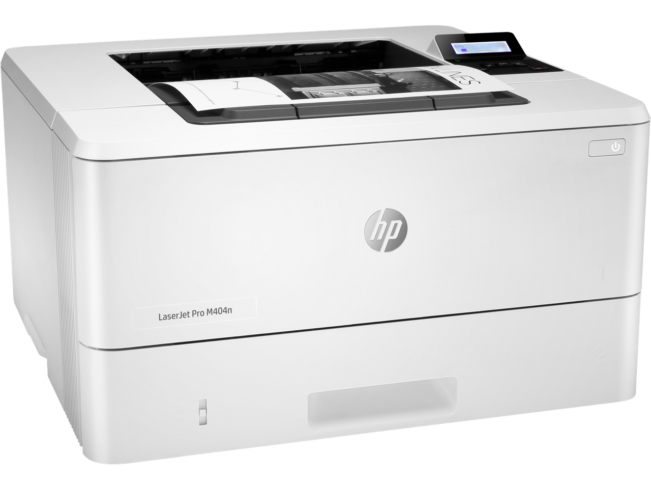 Принтер HP W1A52A HP LaserJet Pro M404n Printer (A4) , 1200 dpi, 38 ppm, 256 Mb, 1200 MHz, tray 100+250 pages,