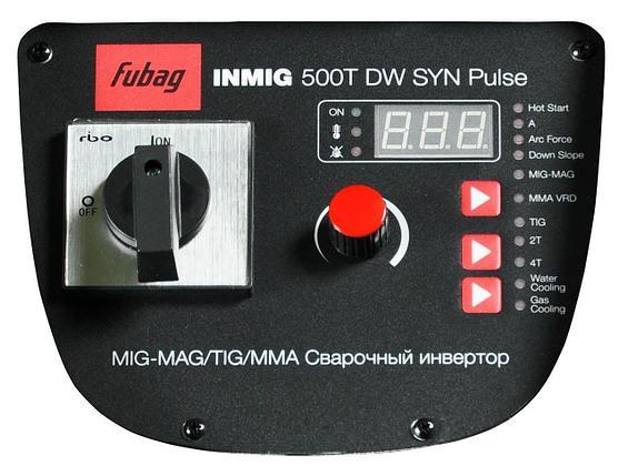 FUBAG INMIG 500T DW SYN PULSE + DRIVE INMIG DW SYN PULSE + горелка FB 500 3m  + блок  охлаждения + тележка + Шланг пакет 5м, фото 2