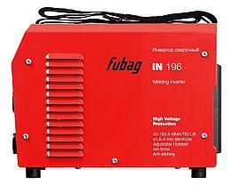 Сварочный инвертор, сварочный аппарат, FUBAG IN 196, фото 3