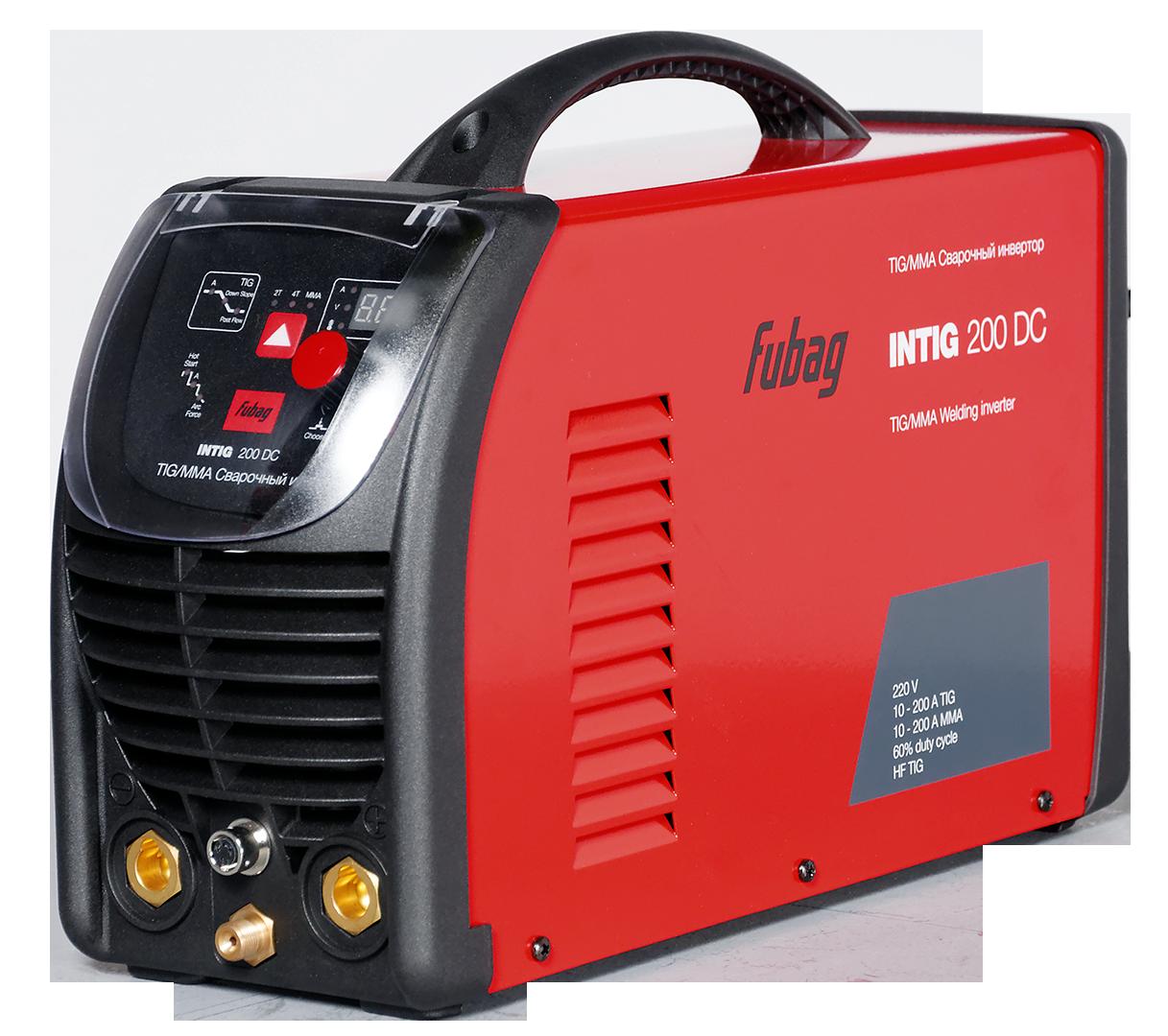 Инвертор сварочный INTIG 200 DC + горелка FB TIG 26 5P 4m