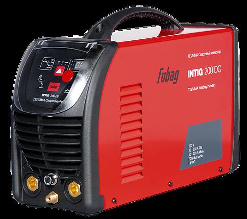 Инвертор сварочный INTIG 200 DC + горелка FB TIG 26 5P 4m, фото 2
