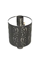 Бак на трубе Violet  (0,8 мм 50 л). D-115 мм. Grill'D. Уфа., фото 1