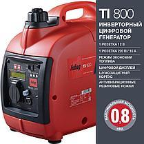 Генератор бензиновый инверторный, FUBAG TI 800, 0.8 кВт, фото 2