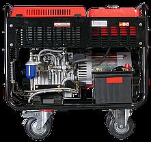 Генератор дизельный, электростартер, коннектор автоматики, FUBAG DS 11000 A ES, фото 3