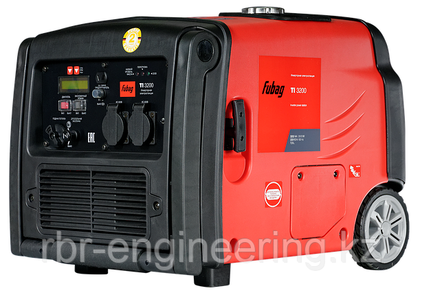 Инверторный генератор 3.2 кВт, бензиновый, FUBAG TI 3200, фото 2