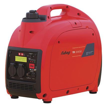 Генератор бензиновый инверторный 2 кВт, FUBAG TI 2000, фото 2