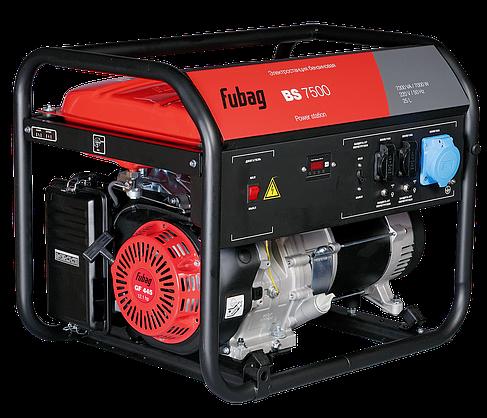 Бензиновый генератор 7 кВт, FUBAG BS 7500, фото 2