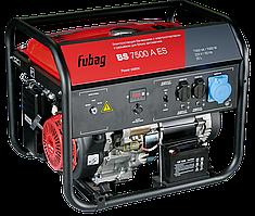 Электростанция бензиновая, с электростартером и коннектором автоматики,FUBAG BS 7500 A ES