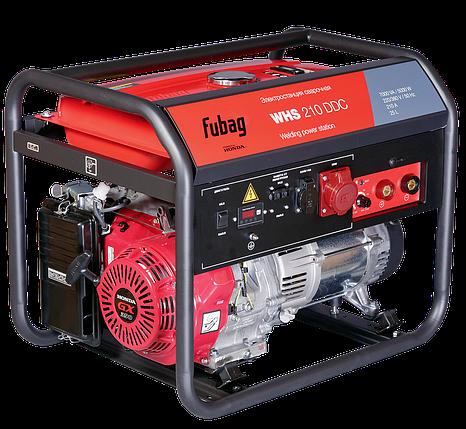 Бензиновый сварочный генератор, двигатель Honda, FUBAG WHS 210 DDC, фото 2