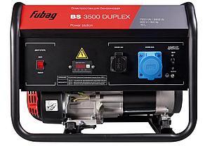 Генератор бензиновый, FUBAG BS 3500 Duplex, фото 2