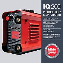 Инвертор сварочный, сварочный аппарат, FUBAG IQ 200, фото 2