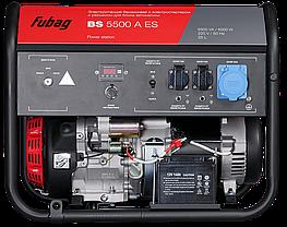 Электростанция бензиновая с электростартером, коннектором автоматики,FUBAG BS 5500 A ES, фото 2