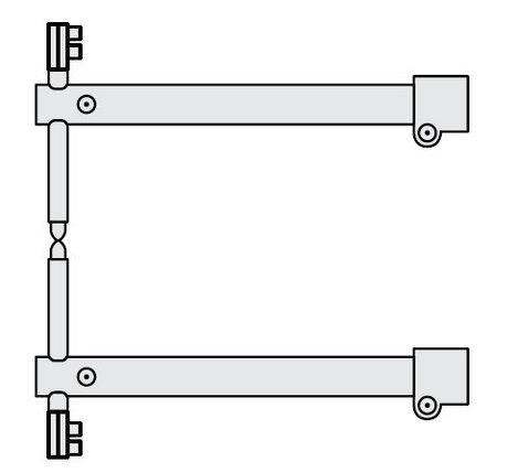 FUBAG Комплект плеч O 40 х 550мм для серии RS, фото 2