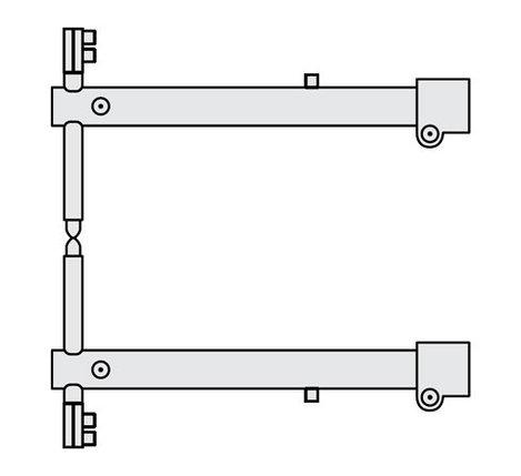 FUBAG Комплект плеч O 40 х 700мм для серии RS, фото 2