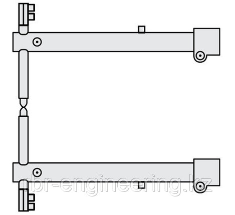FUBAG Комплект плеч O 45 х 600мм для серии RV, фото 2