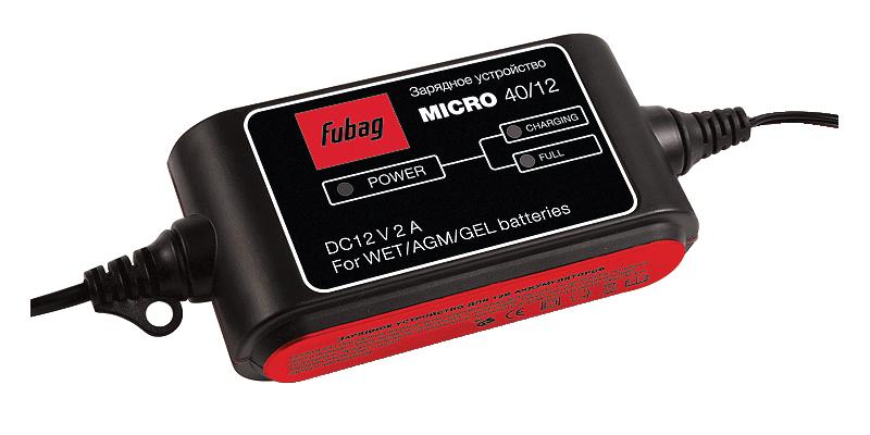 Зарядное устройство, FUBAG MICRO 40/12, фото 2