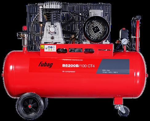 FUBAG, компрессор B5200B/100 СТ4, 530л/мин, 100л, 10бар, 3кВт, 380В, фото 2