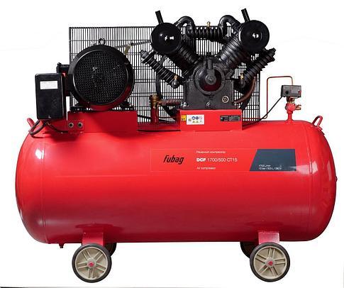 Компрессор DCF-1700/500 СТ15 двухступенчатый (1700л/мин500л, 10бар,11кВт, 380В, фото 2