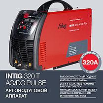 Сварочный аппарат для аргонодуговой сварки, Fubag, INTIG 320 T AC/DC PULSE с горелкой, фото 2