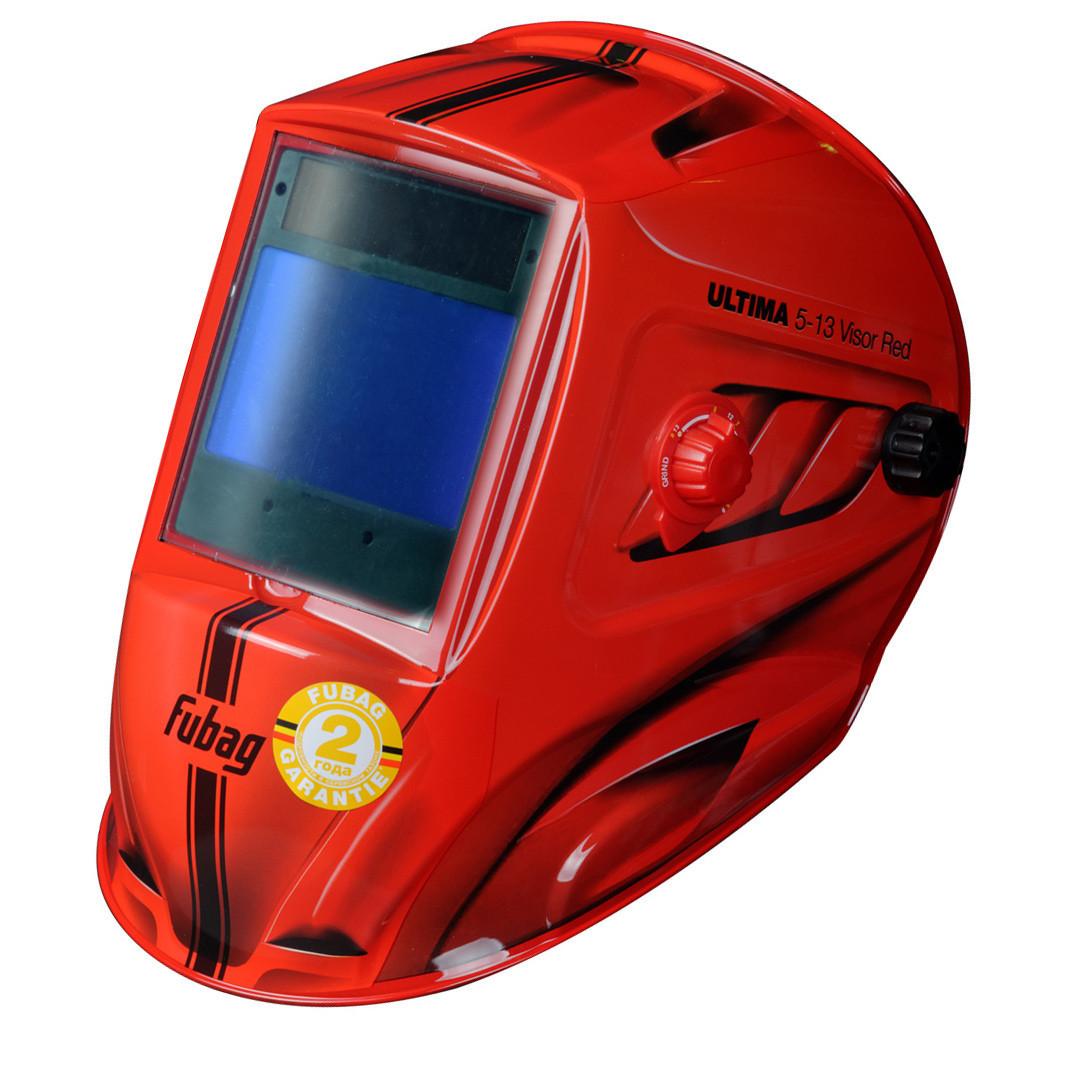 "Маска сварщика ""Хамелеон"", ULTIMA 5-13 Visor Red, зона обзора 100 мм х 67 мм."