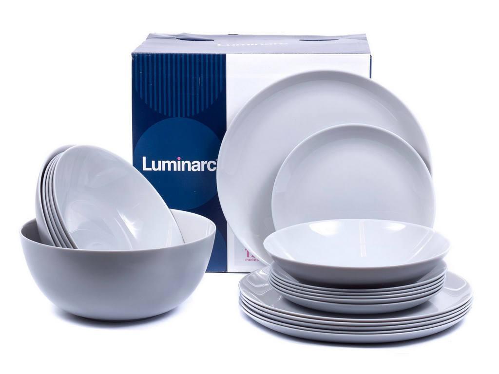 Сервиз Luminarc Diwali Granit 19 предметов на 6 персон