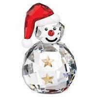 Новогодний кристальный снеговик
