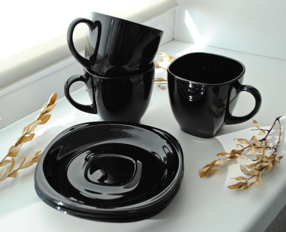 Сервиз чайный Luminarc Carine Black 12 пр.