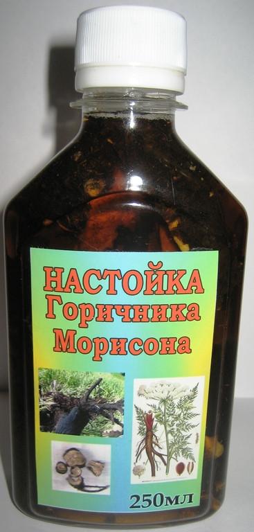 Горичник Морисона экстракт корня, 100мл