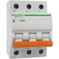 Автоматический выключатель 11211 ВА 63 (3ф) 6А Schneider