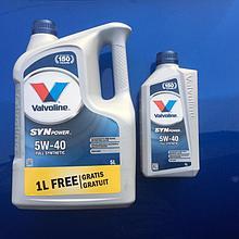 Моторное масло Valvoline SynPower 5w-40 5L