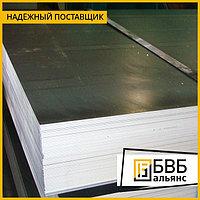 Лист нержавеющий 0,5 мм AISI 304 (08Х18Н10) 2B+PE (матовый)