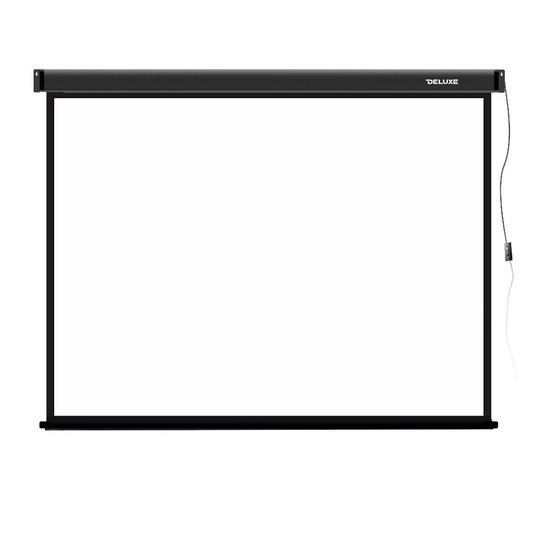 "Экран моторизированный Deluxe DLS-E274х206 (108""х81""), Ø - 135"", Раб. поверхность 266x198 см., 4:3"